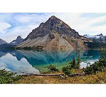 Crowfoot Mountain, Banff NP Photographic Print