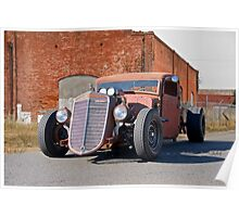 1935 International Harvester Pickup 'Barn Rat' Poster