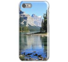 Spirit Island, Maligne Lake, Jasper NP iPhone Case/Skin