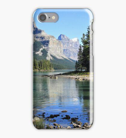 Spirit Island, Maligne Lake, Jasper NP iPhone Case/Skin
