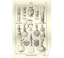 A Handbook Of Ornament With Three Hundred Plates Franz Sales Meyer 1896 0367 Vases Various Drinking Poster