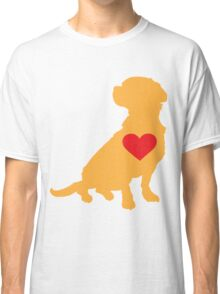 Mixed Breed Silhouette Classic T-Shirt
