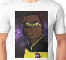 Geordi loves space Unisex T-Shirt