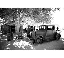 Fill 'er up! Photographic Print