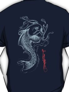 Koi Digital Brush Painting T-Shirt