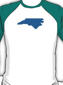 North Carolina State Outline T-Shirt