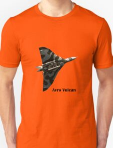 Avro Vulcan - white background Unisex T-Shirt