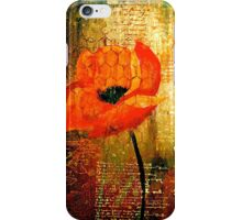 The Poppy Journals...Trapped iPhone Case/Skin