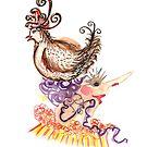 chicken hat  by Soxy Fleming