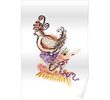 chicken hat  Poster