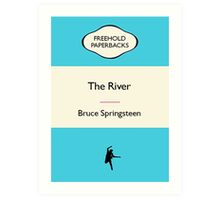 Retro Paperback Cover Art Springsteen Album Art Print