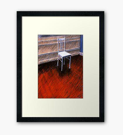 ...weiss wie Schnee.... Framed Print