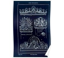 A Handbook Of Ornament With Three Hundred Plates Franz Sales Meyer 1896 0186 Free Ornaments  Stele Crest Inverted Poster
