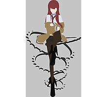 steins gate kurisu makise 004 anime manga shirt Photographic Print