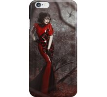 Red Widow iPhone Case/Skin