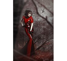 Red Widow Photographic Print