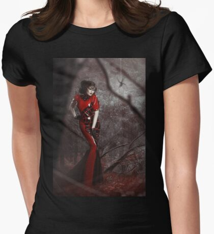 Red Widow Womens Fitted T-Shirt