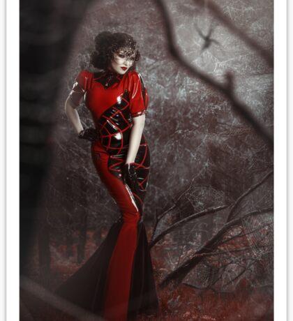 Red Widow Sticker