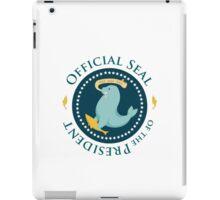 Seal of the Prez iPad Case/Skin