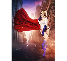 Power Girl Photographic Print