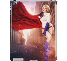 Power Girl iPad Case/Skin