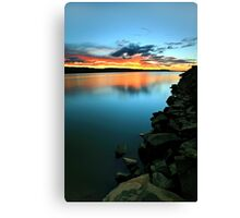 """""""Rocky ~ Foreshore"""" Canvas Print"""