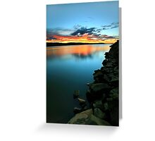 """""""Rocky ~ Foreshore"""" Greeting Card"""