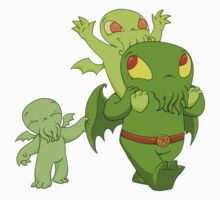 Cthulhu family Kids Clothes