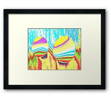 Easter-eggs Framed Print