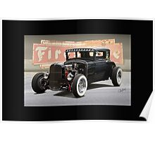 "1931 Ford Street Rod ""Back in the Day' Poster"