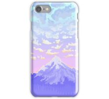 Sunset on Pastel Mountain iPhone Case/Skin