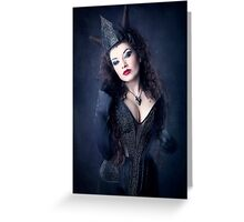 Dark Queen Greeting Card
