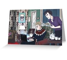 Late Lunch at 221B Baker Street Greeting Card