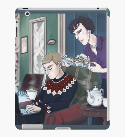 Late Lunch at 221B Baker Street iPad Case/Skin