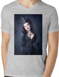 Dark Queen Mens V-Neck T-Shirt