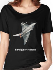 Eurofighter Typhoon - black background Women's Relaxed Fit T-Shirt