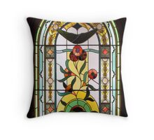 Block Arcade 1892 Throw Pillow