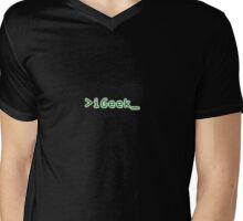 >iGeek_ Mens V-Neck T-Shirt