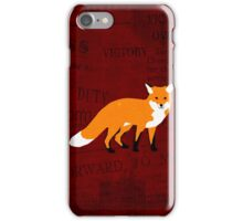 Paper Fox iPhone Case/Skin