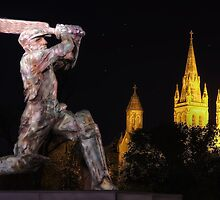 Sir Don Bradman by Shannon Rogers
