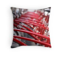 Bicycles Throw Pillow