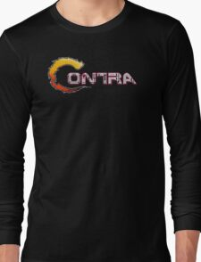Contra Title Long Sleeve T-Shirt