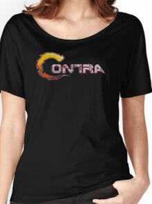 Contra Title Women's Relaxed Fit T-Shirt