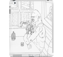Monkey breakfast iPad Case/Skin