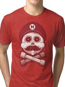DEAD EYED PLUMBER Tri-blend T-Shirt