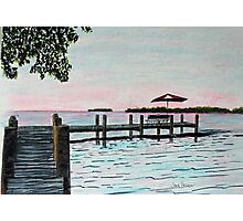 Garlic Island On Lake Winnebago Photographic Print