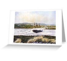 Wreck of The Lady Elizabeth, Falkland Sound Greeting Card