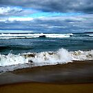 Winter Surf by Crystallographix