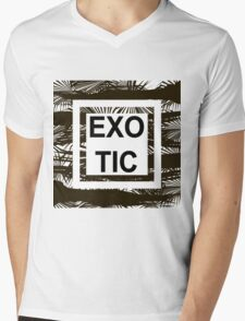 EXOTIC Mens V-Neck T-Shirt