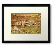 Spara Bridge Framed Print